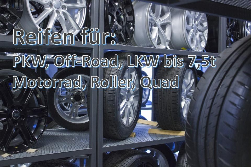 Reifen für PKW – Offroad – LKW bis 7,5t – Motorrad – Roller – Quad - Reifen Schmid RS-Team ist ihr Spezialist in Reutlingen Mittelstadt