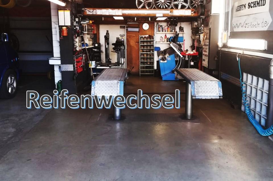 Reifenwechsel bei Reifen Schmid RS-Team in Mittelstadt Reutlingen